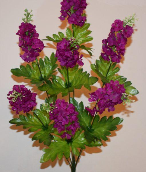 Искусственные цветы-Сирень высокая 7-ка R-627