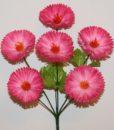 Искусственные цветы-Маргаритка 6-ка новая R-616