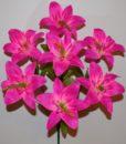 Искусственные цветы-Лилия натуральная 7-ка R-612