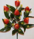 Искусственные цветы-Тюльпанчик 7-ка R-646