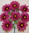 Искусственные цветы-Астра крокус с золотом 9-ка R-645