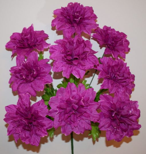 Искусственные цветы-Хризантема пышная 9-ка R-509