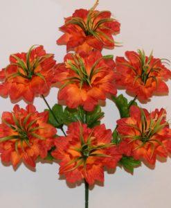 Искусственные цветы -Гортензия с травкой 7-ка R-653