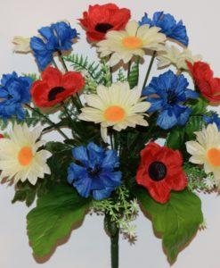 Искусственные цветы-Полевой букет R-565