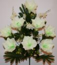 Искусственные цветы —Лилия большая с пластмасками 9-ка непрес R-862