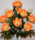 Искусственные цветы —Лилия с пластмасками 9-ка  непрес R-659