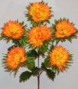 Искусственные цветы - Ёжик пальмовый 6-ка R-621