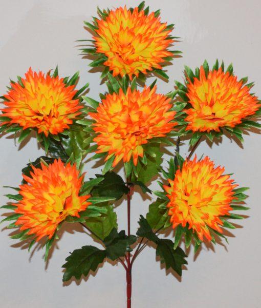 Искусственные цветы — Ёжик пальмовый 6-ка R-621