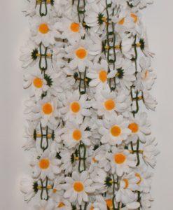 Искусственные цветы-ц.Ромашка белая С-24