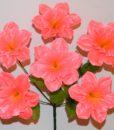 Искусственный цветок -Нарцис атласный 6-ка R-677