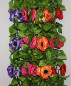 Искусственные цветы-ц.Пион с чёрными ресничками С-25