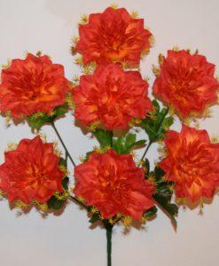 Искусственные цветы —Дубок с розеткой 7-ка R-657