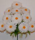 Искусственные цветы —Ромашка цветная 11-ка R-655