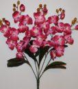 Искусственные цветы —Орхидея 5 веток не прес R-881