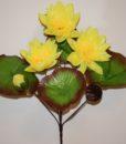 Искусственные цветы —Лотос водяной непресованый R-867