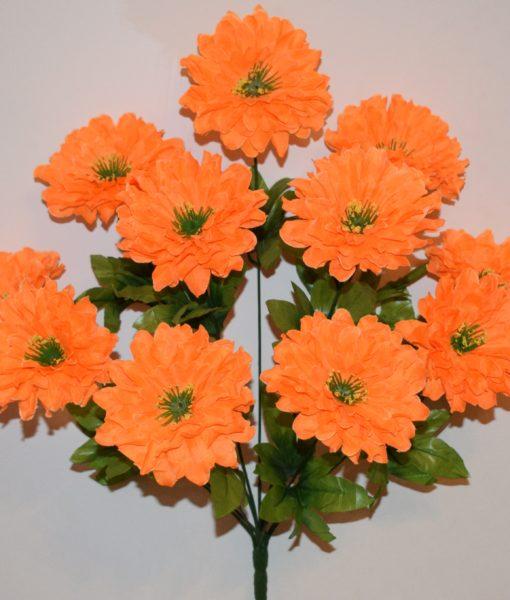 Искусственные цветы-Гербера прысыпка 11-ка R-710