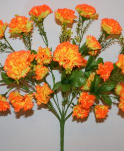 Искусственные цветы —Гвоздика с детками R-691