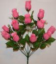 Искусственные цветы-Бутон с пластмасками 12-ка непрес R-702