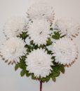 Искусственные цветы-Шар хризантема красна нога 7-ка R-707