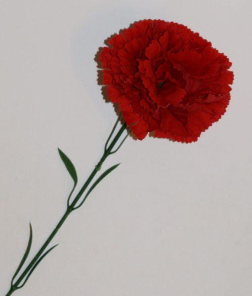 Искусственные цветы- Ветка Гвоздика бархатная B-70