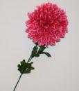 Искусственные цветы- Ветка Шар Хризаниема цветная B-78