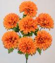 Искусственные цветы-Шар хризантема 7-ка R-813