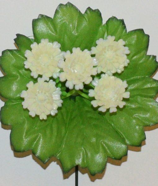 Искусственные цветы-заливка Маргаритка пластмасовая 5-ка Z-78
