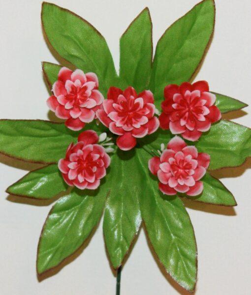 Искусственные цветы-заливка Ананас пластмасовый 5-ка Z-77