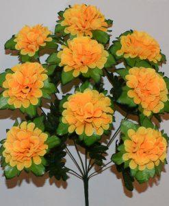 Искусственные цветы -Калинка с подкладкой высокая 9-ка R-750
