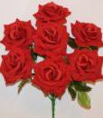 Искусственные цветы-Роза крупная бархат не прес R-734