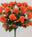 Искусственные цветы-Хризантема с детками R-742