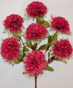 Искусственные цветы-Калинка с резеткой 7-ка R-730