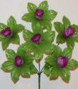 Искусственные цветы -Бутон-лист 6-ка не прес R-759