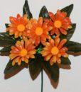 Искусственные цветы-заливка Ромашка цветная пластмасова 5-ка Z-85