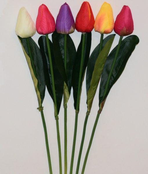 Искусственные цветы- Ветка Тюльпанчик не прес B-83