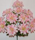 Искусственные цветы-Астра-крокус атласная 12-ка R-808