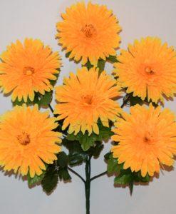 Искусственные цветы -Астра 6-ка R-687