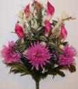 Искусственные цветы-Хризантема+кала с добавками не прес R-795