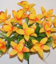 Искусственные цветы-Ирис натуральный с пластмасками 14-ка R-807