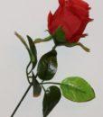 Искусственные цветы- Ветка Роза Бутон большой B-85
