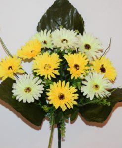 Искусственные цветы-Хризантема цветная микс R-632