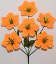 Искусственные цветы-Звёздочка гофрированая 6-ка R-796