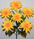 Искусственные цветы-Астра хризантема 6-ка R-792