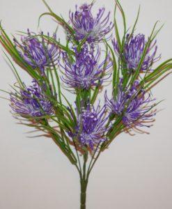 Искусственные цветы-Ёжик пластмасовый большой 7-ка R-789