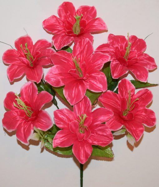 Искусственные цветы Азалия с травинкой R-129