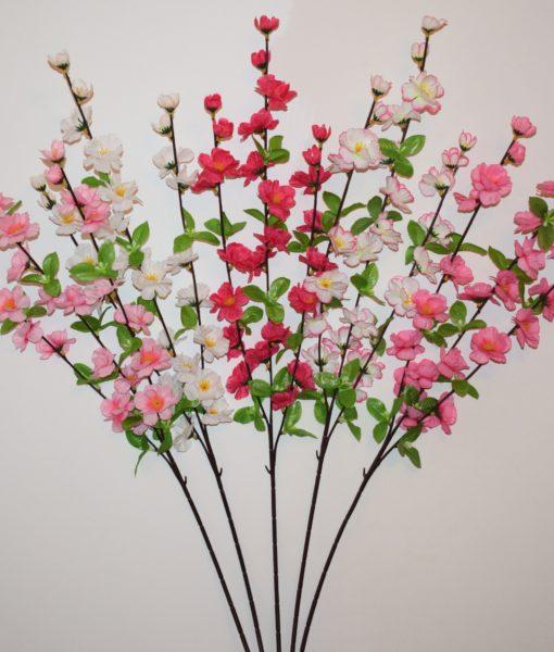 Искусственные цветы- Ветка Сакура 3-ка B-84