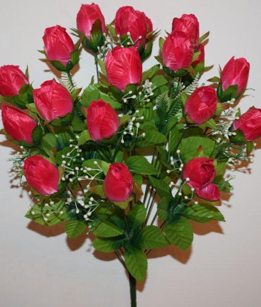 Искусственные цветы-Тюльпан с кашкой 18-ка не прес R-786