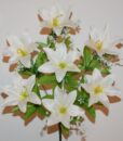 Искусственные цветы —Лилия натуральная 7-ка непрес R-693
