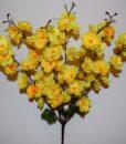 Искусственные цветы-Сакура 7 веток атласная не прес R-839