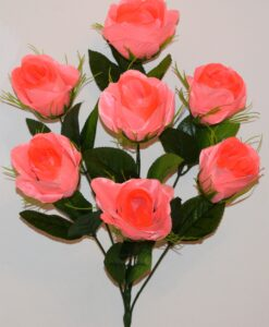 Искусственные цветы -Бутон бакал с усиками 7-ка не прес R-824